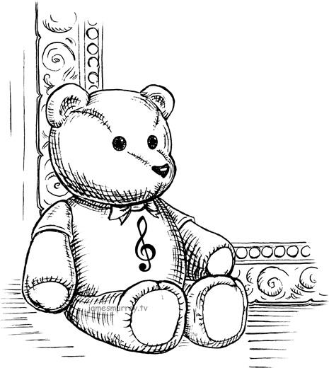 Line Drawing Teddy Bear : James murray portfolio illustrations book